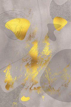 Mid-Century Vintage Nr. 1 | gold-braun von Melanie Viola