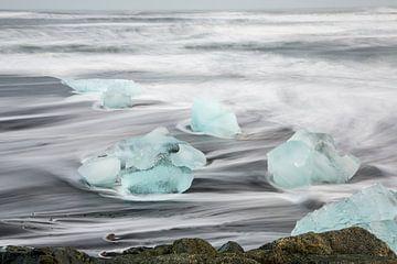 IJsblokken in Zee