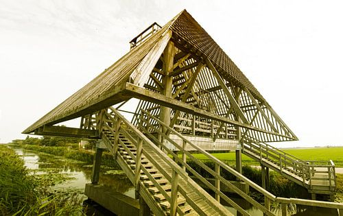 Sint Maartensbrug de stolpbrug over de Grote Sloot