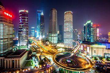 Shanghai bei Nacht von Marcel Samson