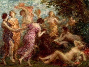 Die Versuchung des Heiligen Antonius, Henri Fantin-Latour