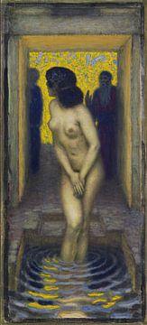 Susanna im Bade, Franz von Stuck, Um 1913 von Atelier Liesjes