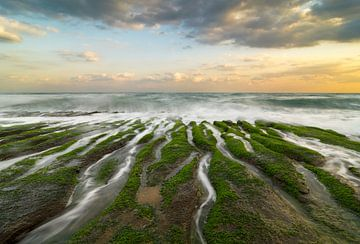 Récif de Laomei, côte nord de Taiwan. sur Jos Pannekoek