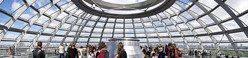 Rijksdag Berlijn (Panorama) von Bart van Uitert