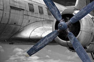 die alte Propellermaschine von Joachim G. Pinkawa