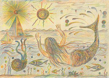 Meerjungfrau von Wieland Teixeira