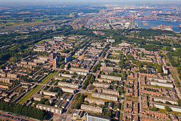 Luchtfoto Pendrecht te Rotterdam
