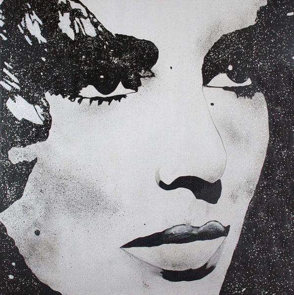 Elizabeth Taylor Diams von Kathleen Artist Fine Art