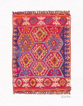 Marokkaanse tapijt II, Farida Zaman van Wild Apple