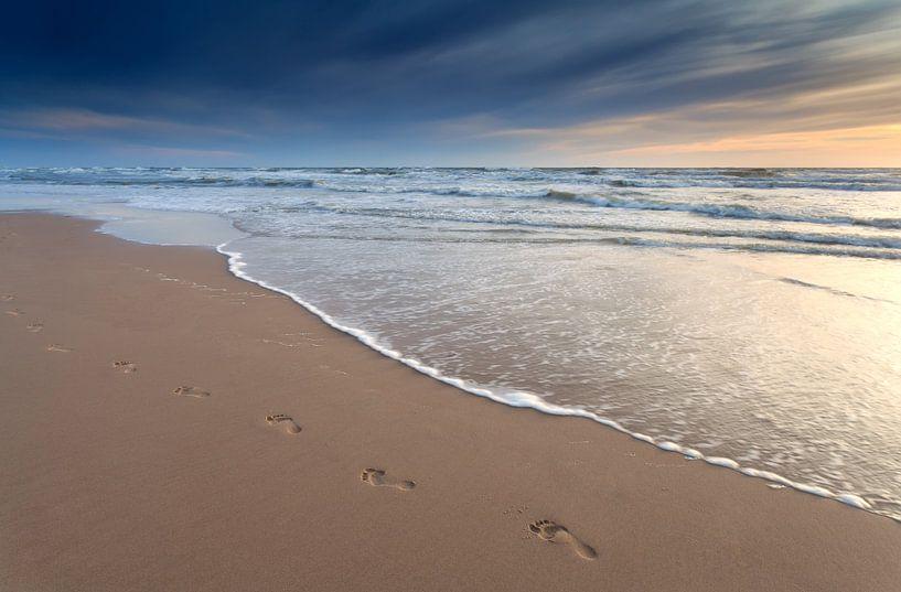Sunset walk van Olha Rohulya