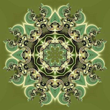 Consensuele Symmetrie in Groen van Hugh Fathers