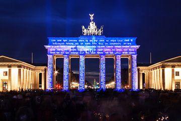 Das Brandenburger Tor in besonderem Licht von Frank Herrmann