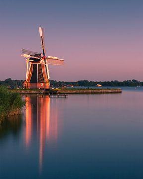 Windmill De Helper, near Haren, Groningen, Netherlands von Henk Meijer Photography