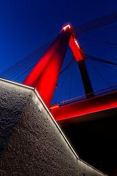 De vernieuwde Willemsbrug van Peter Dane