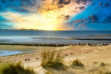 Sonnenuntergang am Meer von Martina Fornal