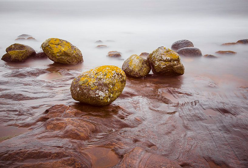 Pirates Cove, Isle of Arran, Schotland van Johan Zwarthoed