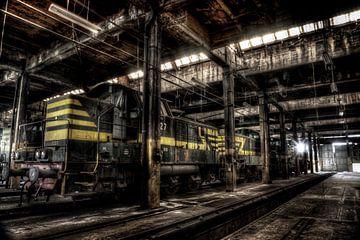 Vergeten treinen van Eus Driessen