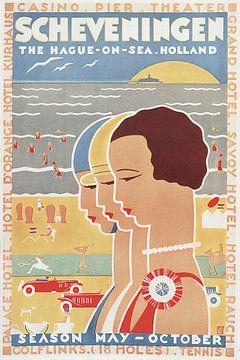 Scheveningen Vintage von Bright Designs