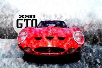 Ferrari 250GTO von Theodor Decker