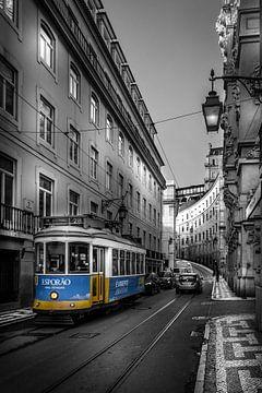 Straßenbahn, Lissabon von Jens Korte