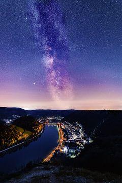 Milchstraße über Treis-Karden von Joel Layaa-Laulhé