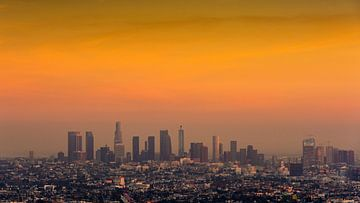 Downtown Los Angels van Keesnan Dogger Fotografie