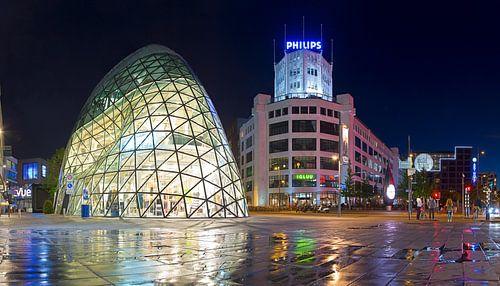 Panorama de Blob en Lichttoren Eindhoven van