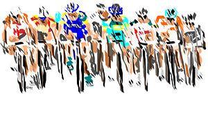 Tour de France van