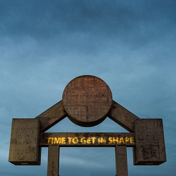 Time to get in shape - Muscle Beach van Keesnan Dogger Fotografie