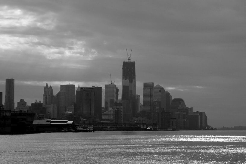 Skyline of New York sur Guido Akster