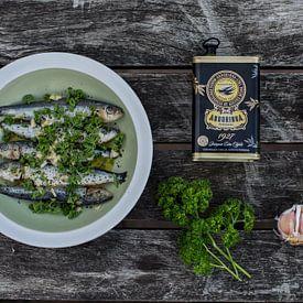 Gemarineerde sardientjes & ingrediënten van Anki Wijnen