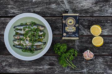 Gemarineerde sardientjes & ingrediënten von Anki Wijnen