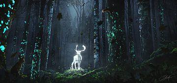 Sage of the Forest (Beschermer van het Bos) van Rocky Schouten
