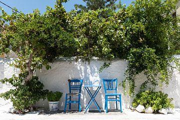 Grieks terras van Jan Hagen