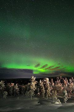 Noorderlicht in Finland van rik janse