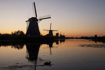 windmolens van Jan de Jong