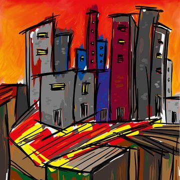 Graffiti City von Nathalie Antalvari