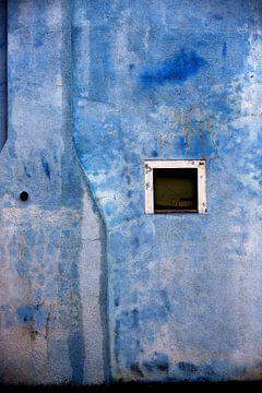 Das blaue Haus auf Burano von Andreas Müller