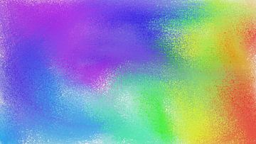 Abstract regenboog van Maurice Dawson