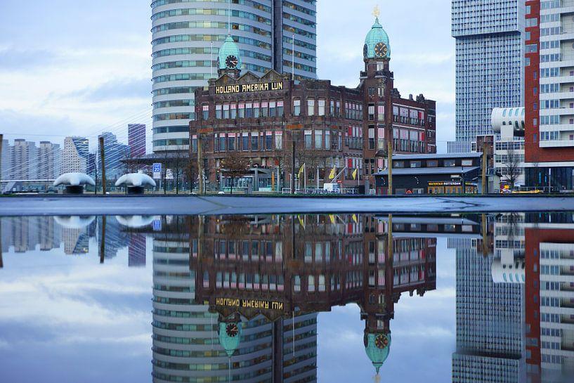 Hotel New York in Rotterdam van Michel van Kooten