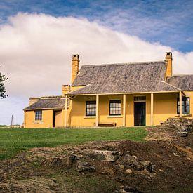 William Smith O'Brien's Cottage, Tasmanië van Sven Wildschut