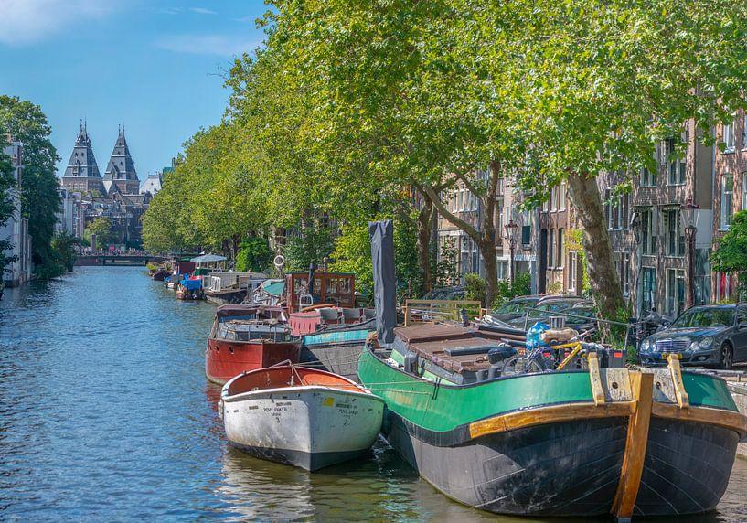 Lijnbaansgracht Amsterdam van Foto Amsterdam/ Peter Bartelings
