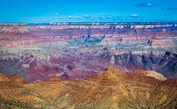 De veelkleurige Grand Canyon, VS van Rietje Bulthuis