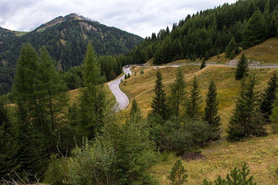 Herfst in de bergen van Wim Slootweg