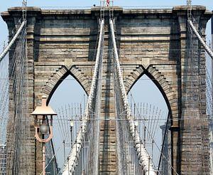 Brooklyn Bridge van Menno Heijboer