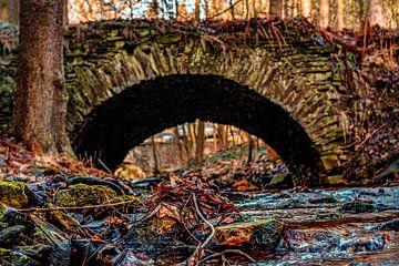 Eine alte Steinbrücke von Johnny Flash