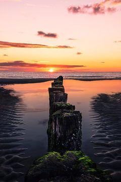 Burgh-Haamstede Beach van Colin Bax