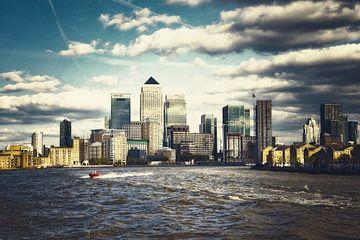 Uitzicht op de stad Londen 02 Stedelijk van Angela Dölling