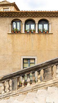 Treppe in Girona, Spanien von Jessica Lokker