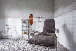 verlassenes Pflegezimmer